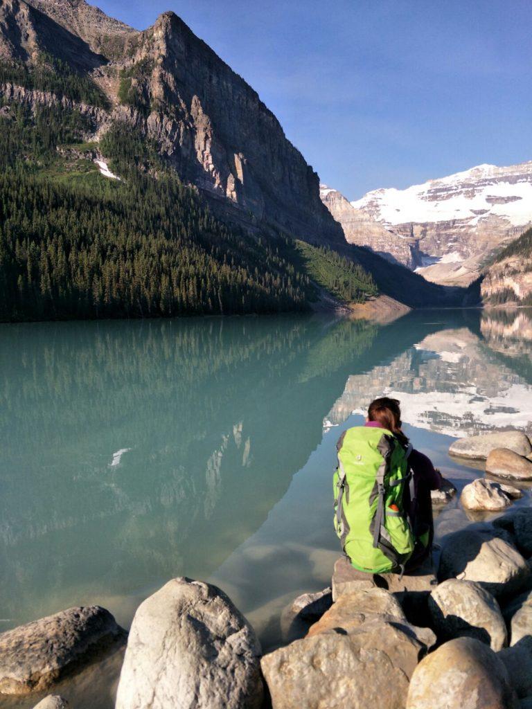 Lake Louise am Morgen