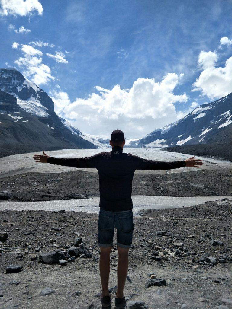 Athabasca Gletscher heute